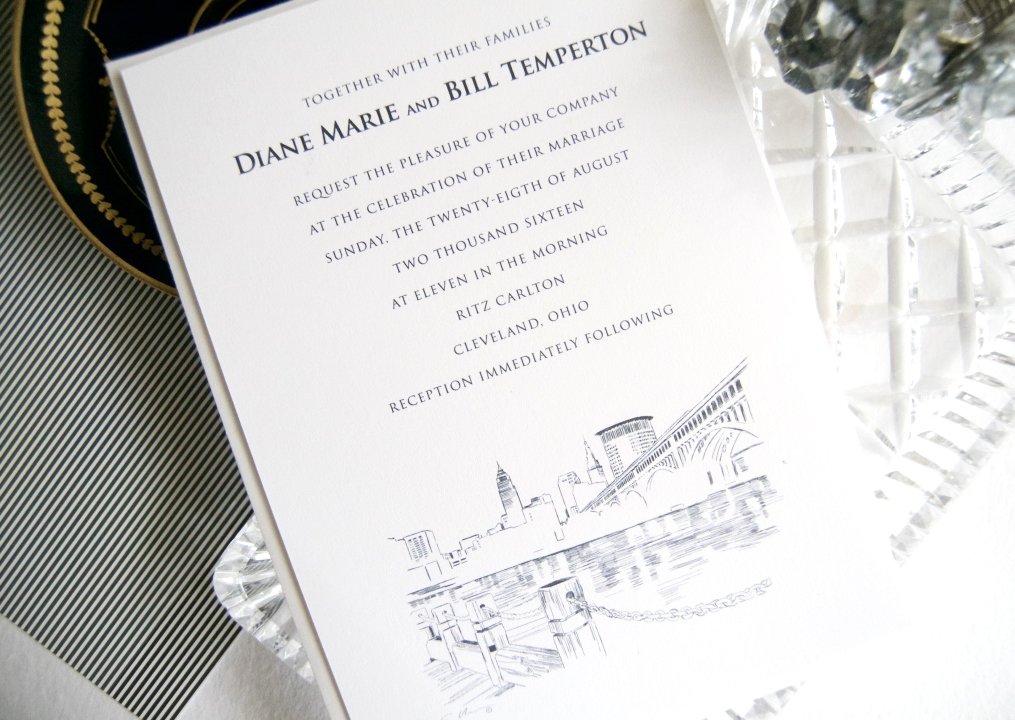 Wedding Invitations Cleveland