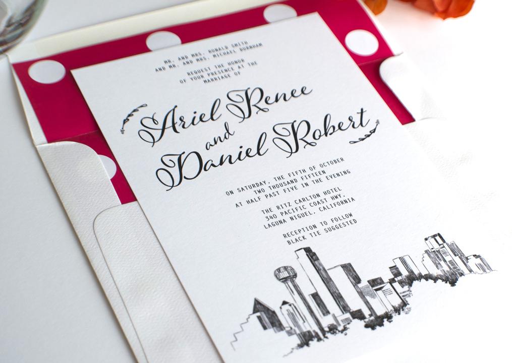 Wedding Invitations Dallas