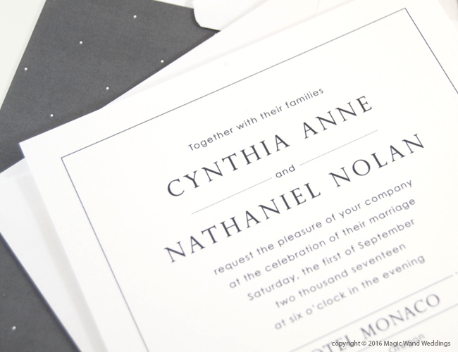 Wedding Invitations Portland Oregon: Portland Skyline Wedding Invitations