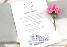 atlanta menu cards