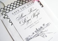 Austin Save the Date Cards