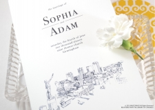 Birmingham Skyline Wedding Programs