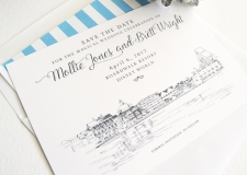Boardwalk Resort Save the Date Cards