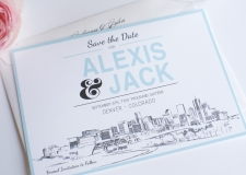 Denver Save the Date Cards
