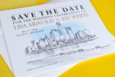 Detroit Save the Date Cards