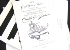 Fairytale Wedding Tiara Save the Date Cards