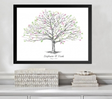 elm tree fingerprint guestbook