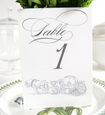 Fairytale Carriage Table Numbers