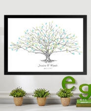 low oak tree fingerprint guestbook alternative
