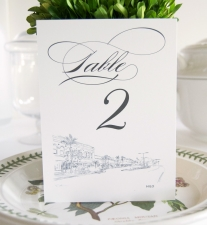 Hilo Skyline Table Numbers