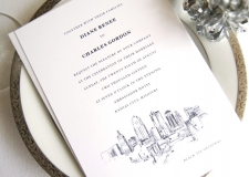 Kansas City Skyline Wedding Invitations