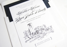 Lexington, Kentucky Skyline Wedding Invitations