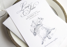 Liberty Bell Save the Date Cards
