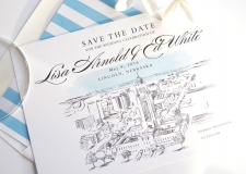 Lincoln Save the Date Cards
