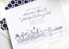 Little Rock Save the Date Cards