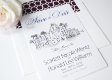 Mission Inn Resort & Spa Skyline Save the Date Cards