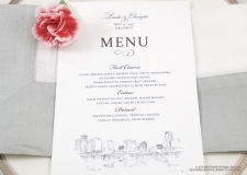 orlando skyline menu cards