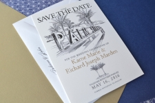 Palm Springs Save the Date Cards