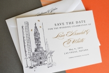 Philadelphia City Hall Weddings City Hall Save the Date Cards