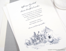 Pleasantdale Chateau Wedding Invitations