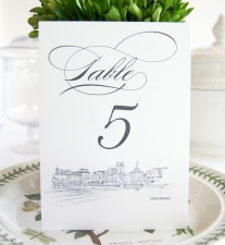 Savannah Skyline Table Numbers