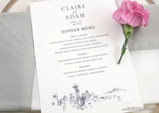 seattle menu cards