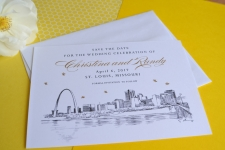 St. Louis Save the Date Cards